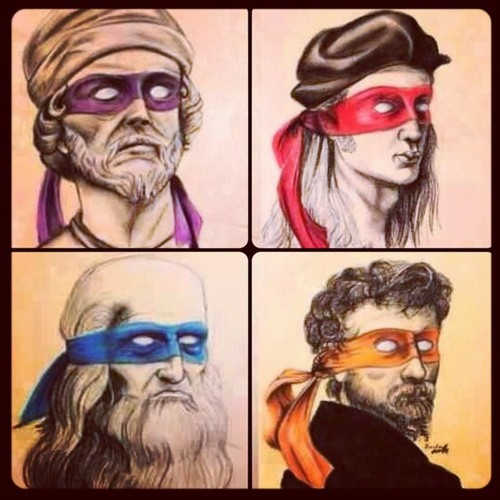 renaissance ninja turtles